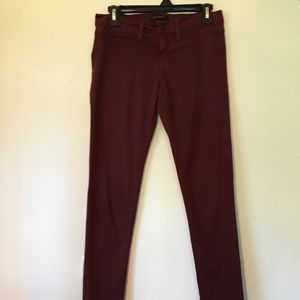 Maroon Skinny Jeans *3 for $15*